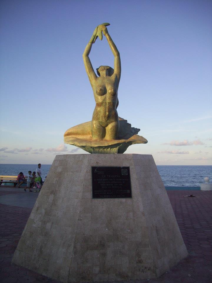 La triguena in Isla Mujeres